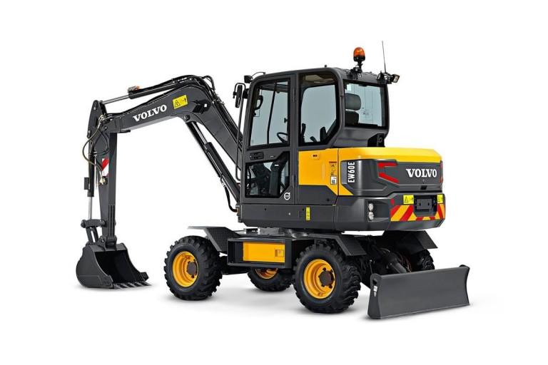 EW60E Wheeled Excavators