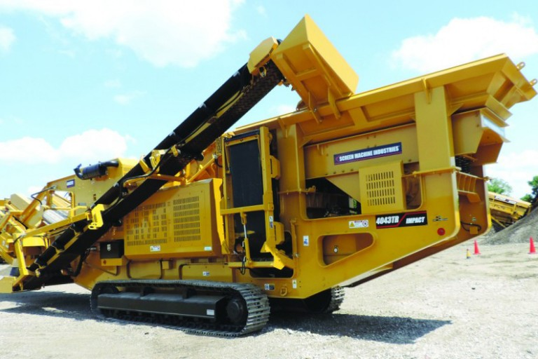 4043TR Track Mounted Impact Crushers