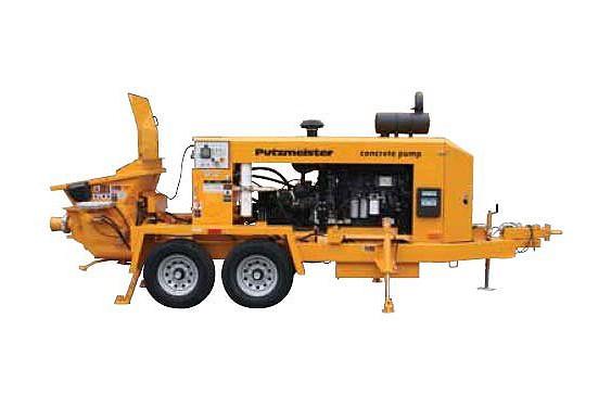 BSA 100-D Concrete Pumps