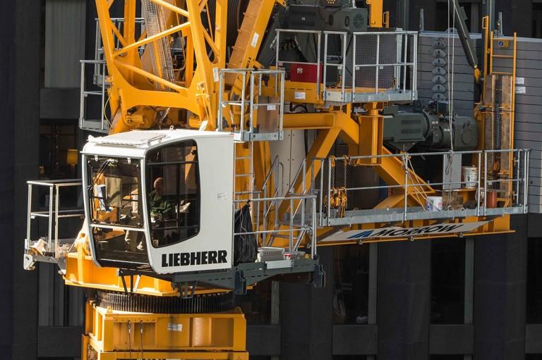 710 HC-L 25/50 Litronic Luffing-Jib Tower Cranes