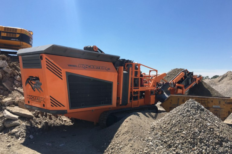 Rockster North America Inc. - R1000S Track Mounted Impact Crushers
