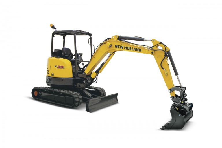 New Holland - E33C Compact Excavators
