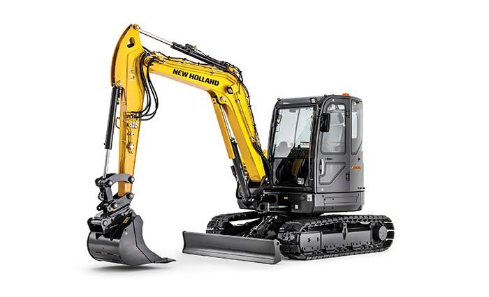 New Holland - E57C Compact Excavators