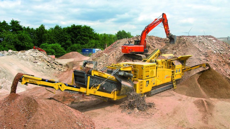 Keestrack introduces R5e hybrid impact crusher