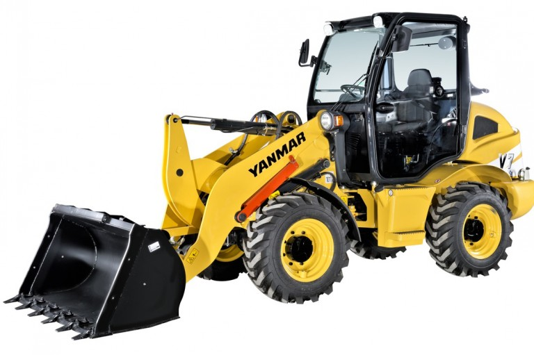 V8 Wheel Loaders