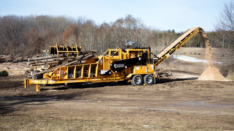 Model 2460XP added to Beast horizontal grinder lineup