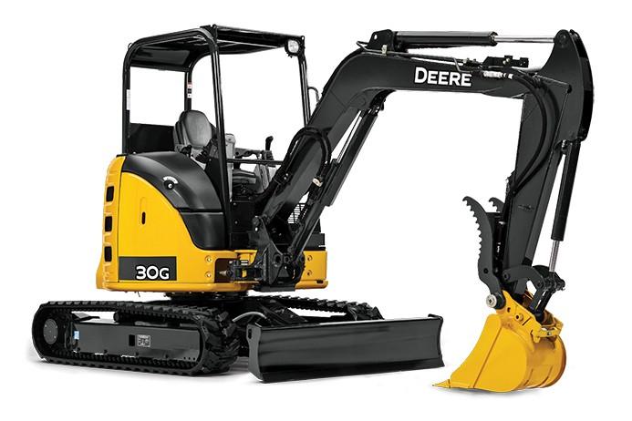 John Deere Construction & Forestry - 30G Compact Excavators