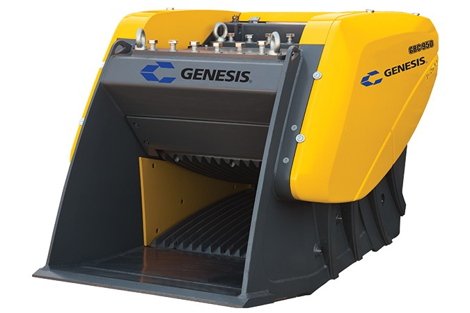 GBC Series Bucket Crushers