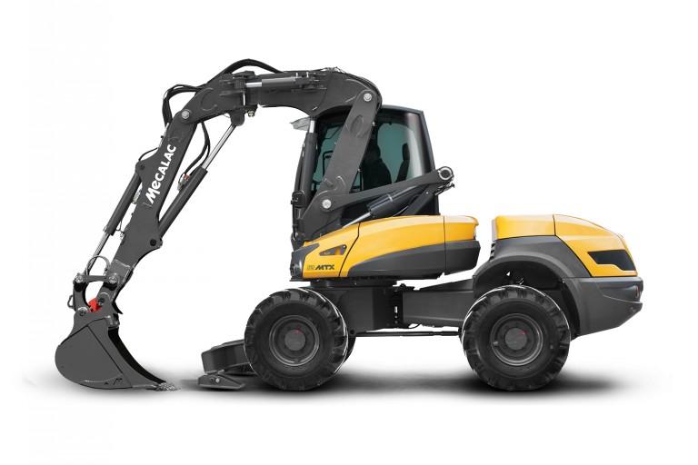 Mecalac - 12MTX Compact Excavators