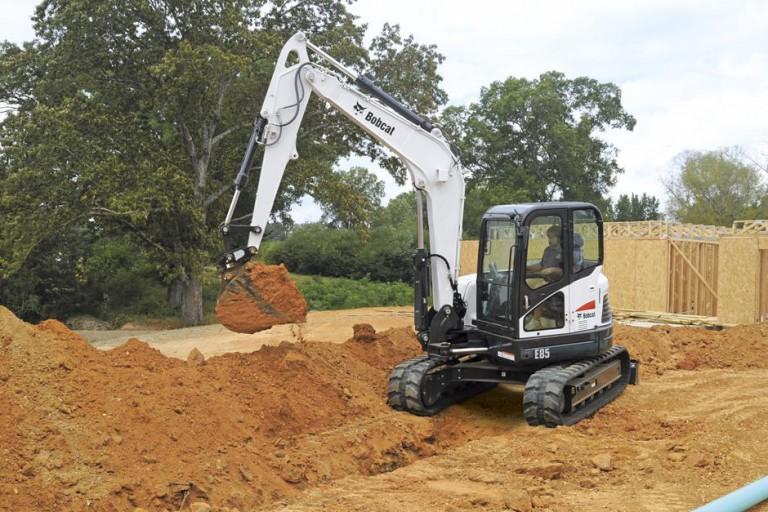 E85 Excavators