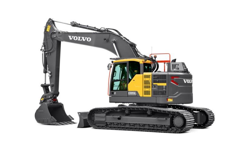 Volvo Construction Equipment - ECR355E Excavators
