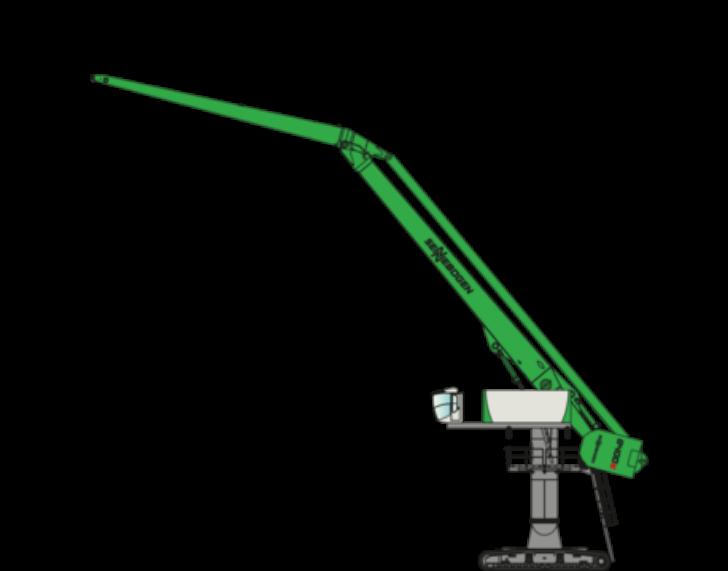 8400 EQ Crawler E-Series Material Handlers