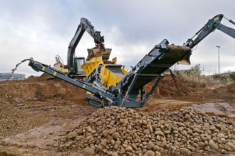 Rubble Master - RM HS3500M Mobile Screens