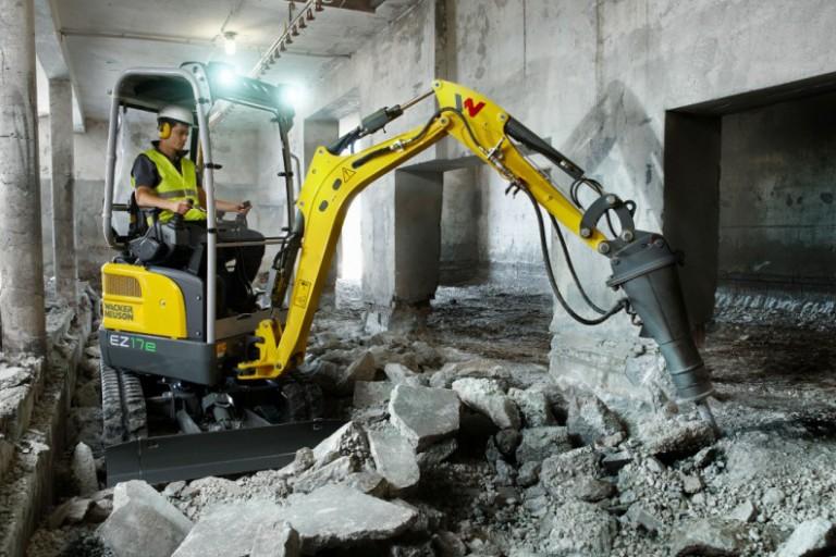 EZ17e Compact Excavators