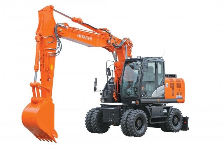 Hitachi Construction Machinery Co. - ZX190W-6 Wheeled Excavators