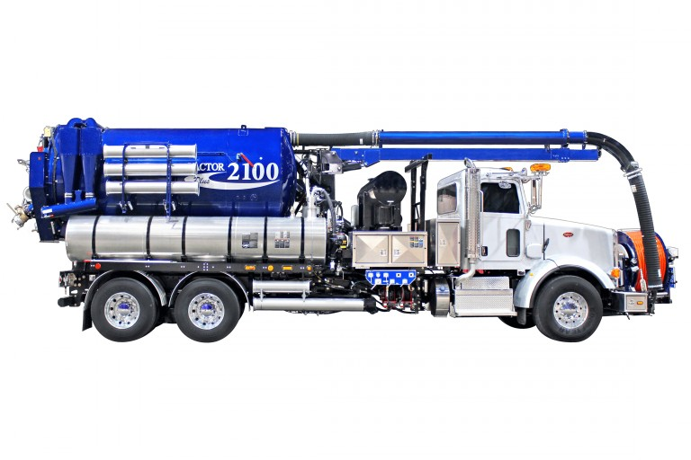 2100i Series Combination Sewer Clearners