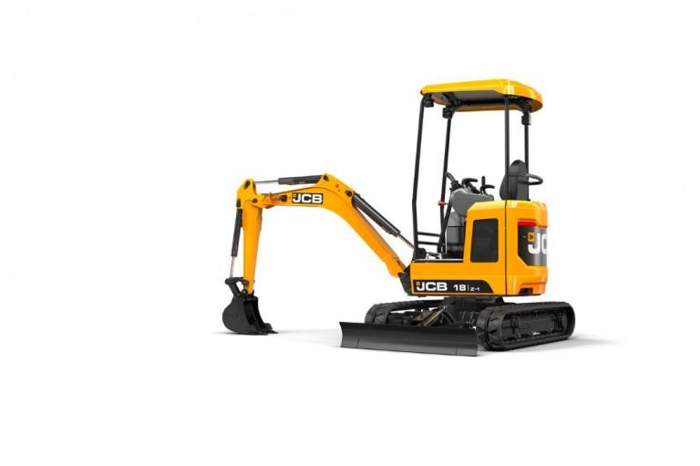 JCB Inc. - 18Z-1 Mini Excavators