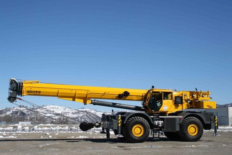 GRT880 Rough Terrain Cranes