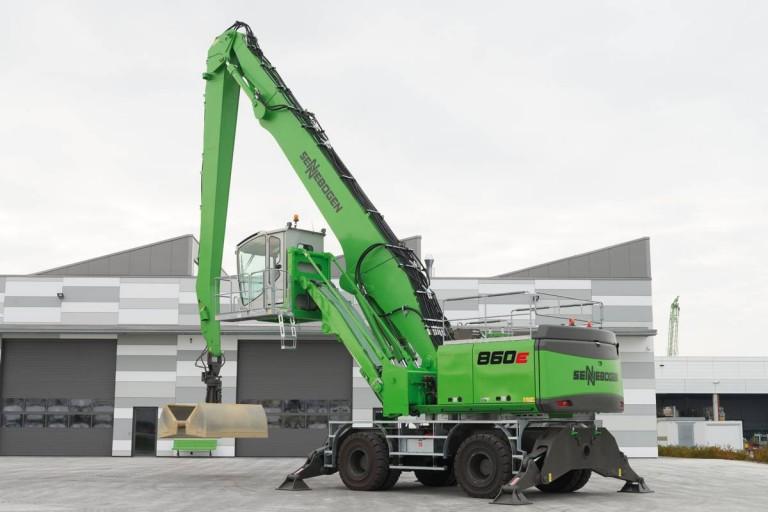 SENNEBOGEN LLC - 860M E-Series Material Handlers