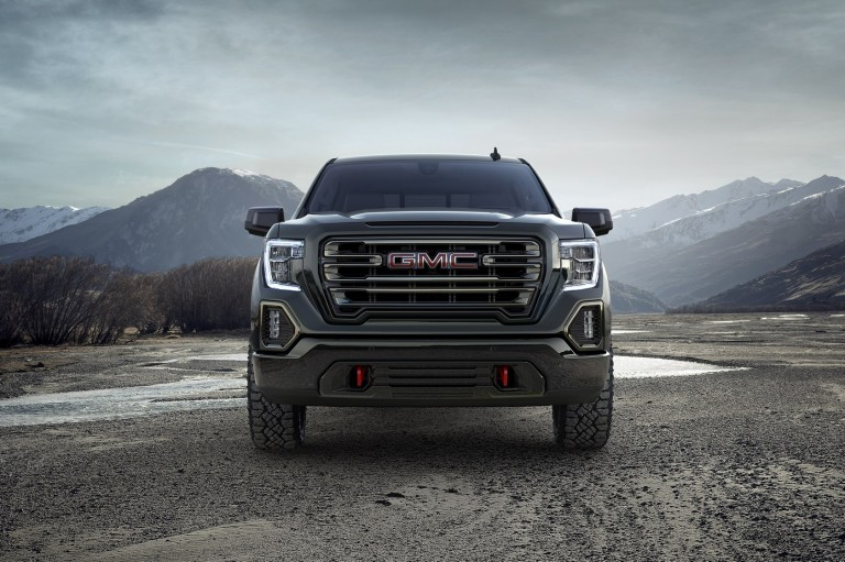 GM Canada - 2019 Sierra AT4 Pickup Trucks
