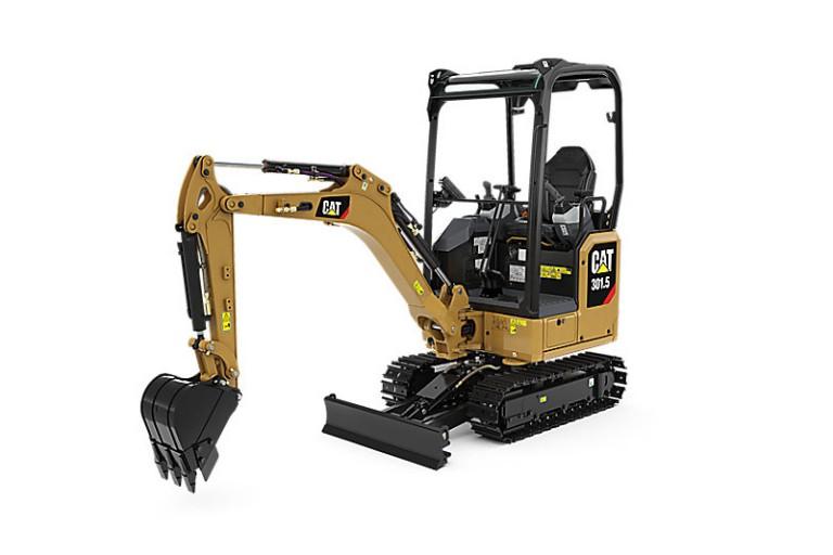 Caterpillar Inc. - 301.5 Compact Excavators