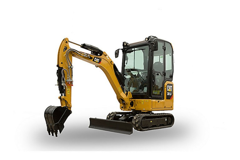 Caterpillar Inc. - 301.8 Compact Excavators