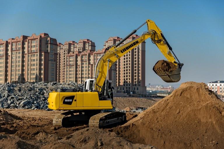 R 922 Litronic Excavators