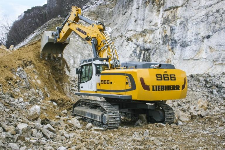 R 966 Litronic Excavators