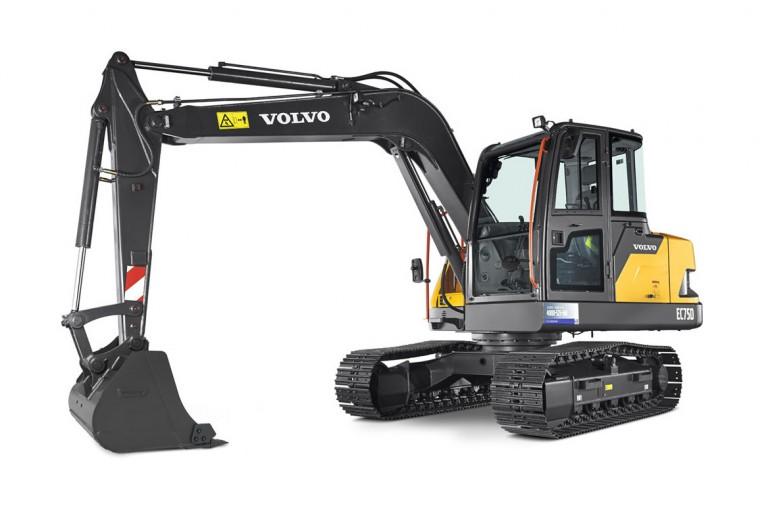 Volvo Construction Equipment - EC75D Compact Excavators
