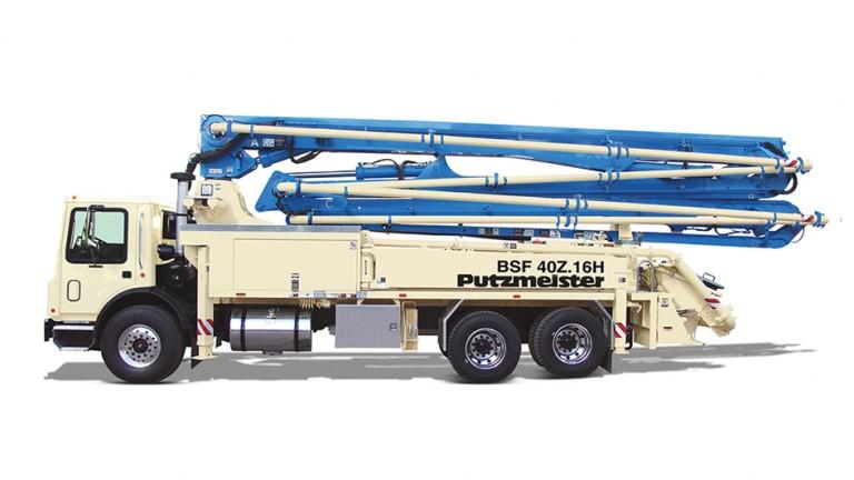 Putzmeister America - 40Z Concrete Pump Trucks