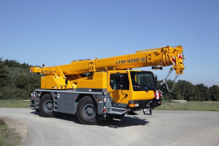 Liebherr - LTM 1030-2.1 Mobile Cranes