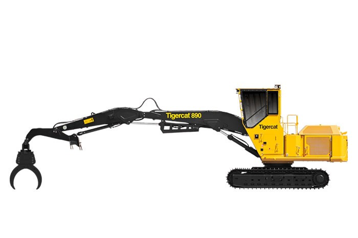 Tigercat Industries Inc. - 890 LOGGER Forestry Log Loaders