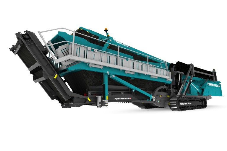 Powerscreen - Chieftain 2200 Mobile Screens