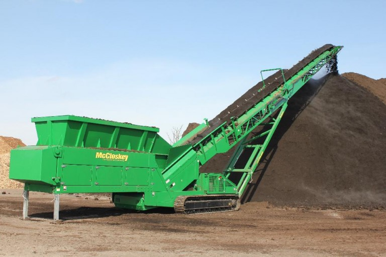 McCloskey International - ST-TF Series Reach Stackers