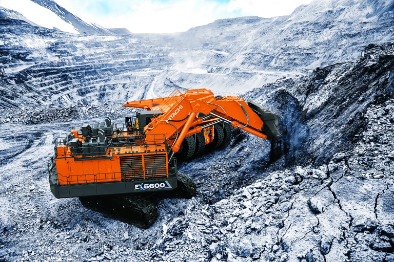 Hitachi Construction Machinery Co. - EX5600-7 Mining Shovels