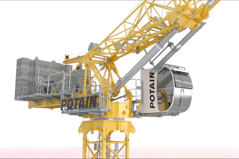 MRH 125 Luffing-Jib Tower Cranes