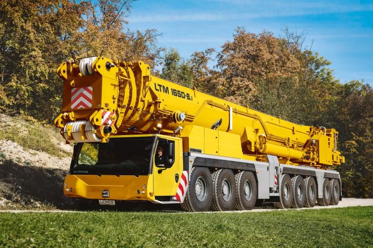Liebherr - LTM 1650-8.1 Mobile Cranes