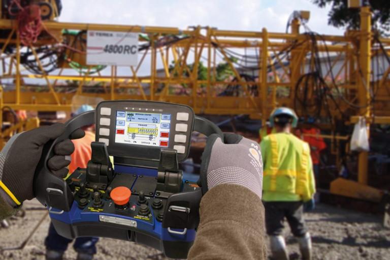 Terex Corporation - 4800RC Concrete Pavers