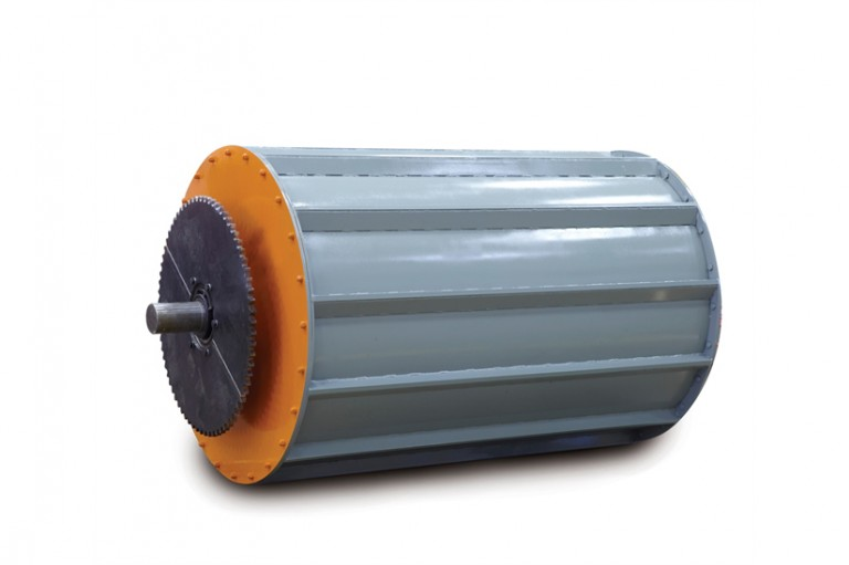 Eriez - Magnetic Scrap Drums Magnetic Separators