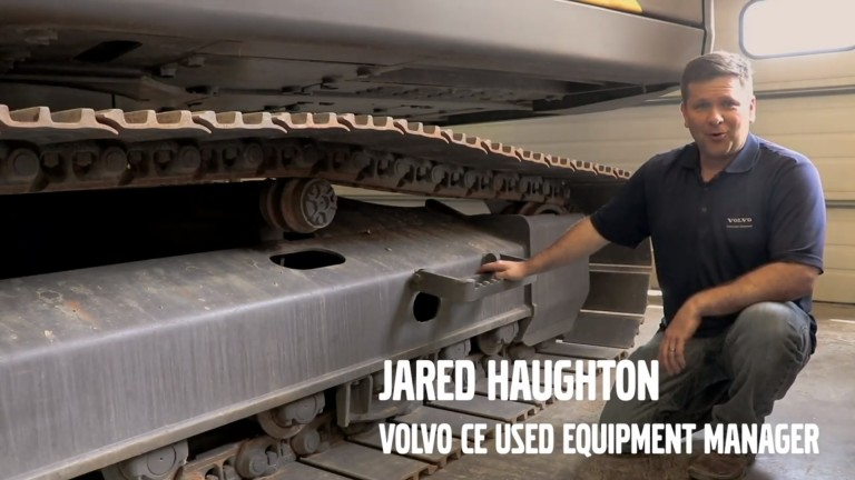 Watch: How to inspect an excavator undercarriage - Heavy