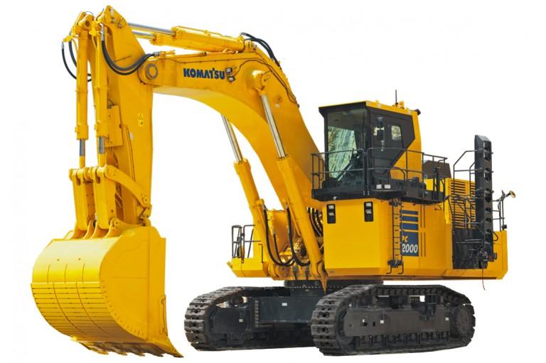 Komatsu America Corp. - PC2000-11 Excavators