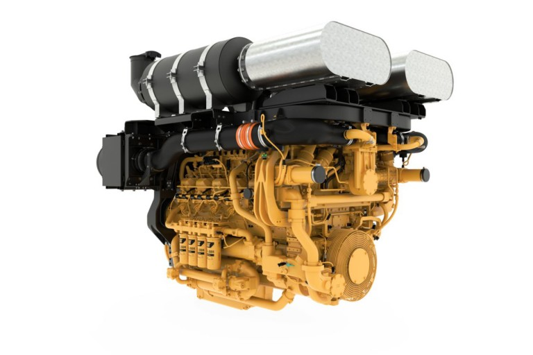 Caterpillar Inc. - 3512E DGB Diesel Engines