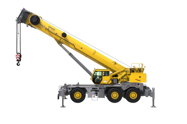 GRT9165 Rough Terrain Cranes