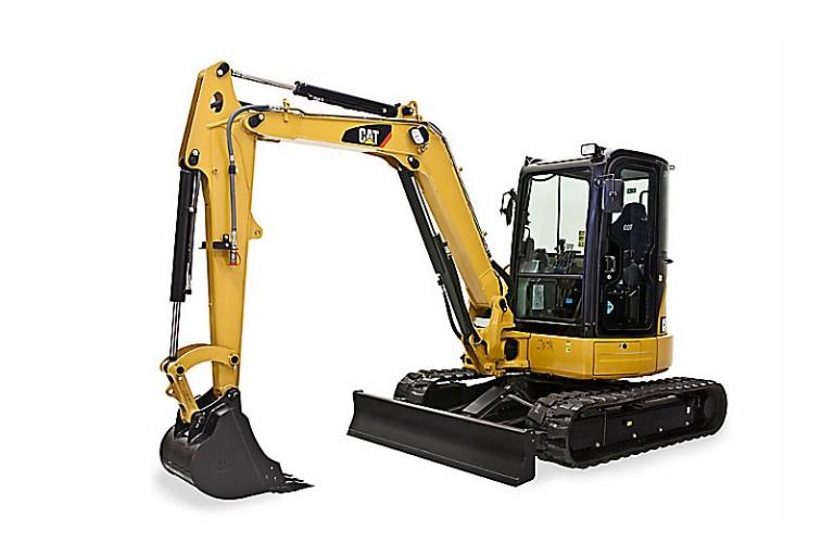 305E2 CR with swing boom Excavators