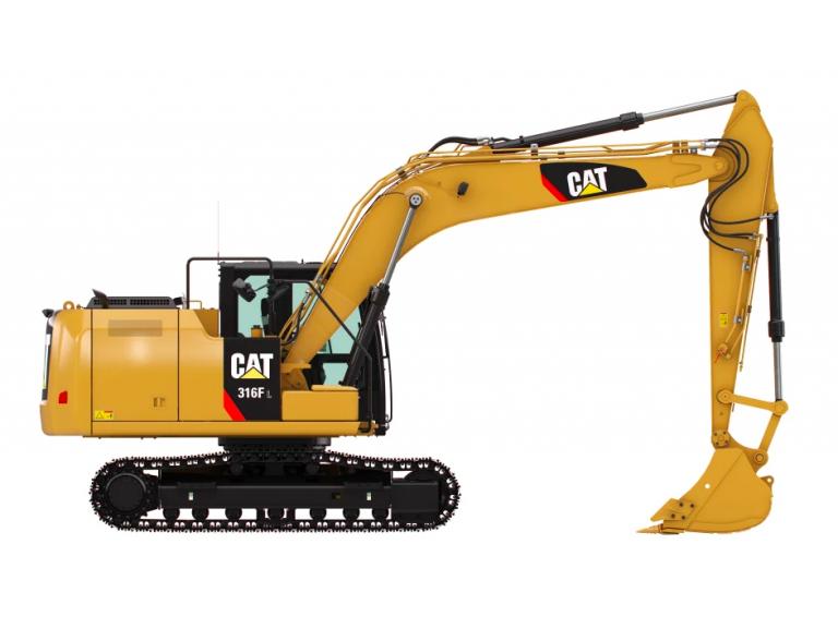 316F L Excavators