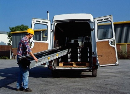The powerful, portable miniveyor is easily transported. The smaller units weigh 165lbs but are built with extreme strength (center load capacity is 4,000 lbs)