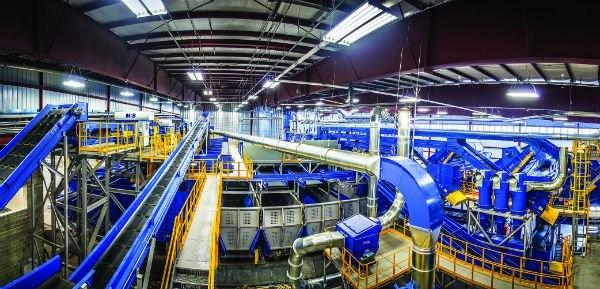 Single Stream Recycling System