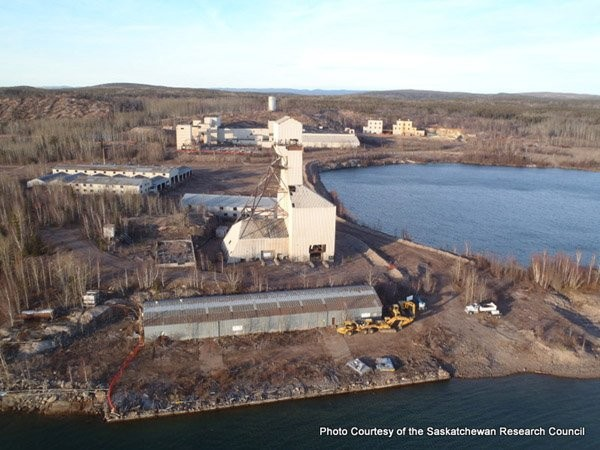 SRC cleaning up more than 50 year old mining debris in northern Saskatchewan