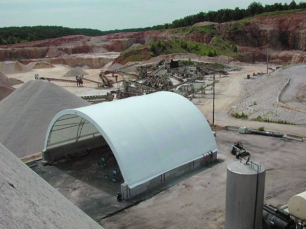 ClearSpan structures are ideal for a variety of applications in recycling