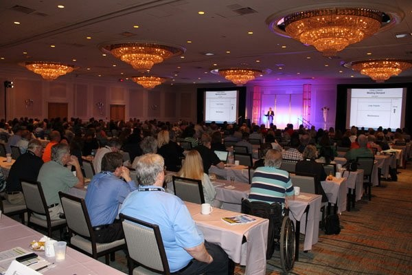Data management users group conference reaches record attendance